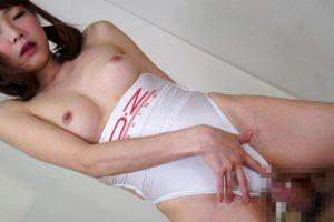 AV女優涼川絢音が3種のレースクイーン姿に 食い込む衣装で犯される姿がヤバイ