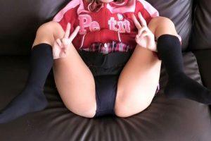 【ロリ幼女】少女が子供用私服にチア&制服でブルマ丸見せ!食い込むパンツも披露!!